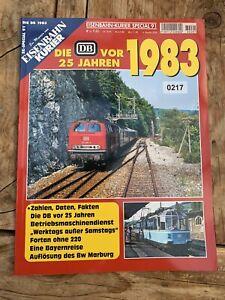 Eisenbahn Kurier Special 91 Die DB vor 25 Jahren 1983 (217)