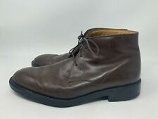 TOD'S Mens Brown Leather Boots Size 9