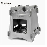 Titanium Backpacking Wood Stove Camping Stove Stove Portable Ultralight WS009ST