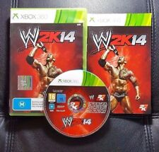 W2K14 WWE 2K14 (Microsoft Xbox 360, 2013) Xbox 360 Game - FREE POST