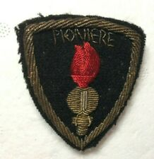 More details for ww2 royal italian army assault pioneers bullion wire cloth badge patch