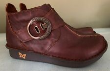 NEW ALEGRIA CAITI Brown Leather BOOTS Size EU 36 US 5.5 - 6  CAT 882