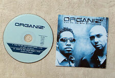"CD AUDIO MUSIQUE / ORGANIZ' ""YOU TO ME ARE EVERYTHING"" CD SINGLE 2T 2001 RnB"