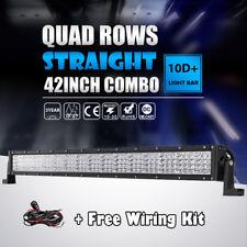 "Quad Row LED Light Bar 42Inch 2880W Flood Spot Combo LED Driving Light 40""44""45"""
