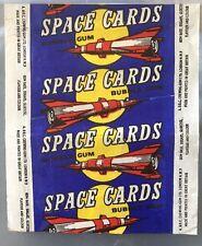 A&BC GUM SUPERB SCARCE SPACE WRAPPER  1958