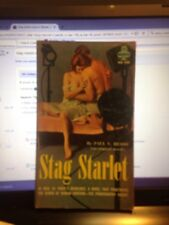 '61 Sleaze Paperback Stag Starlet By Russo From Midwood