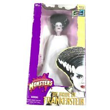 Universal Studios Monster Bride Of Frankenstein Doll Halloween Poseable Figure