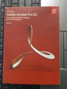 NEW IN BOX Adobe Acrobat Pro DC 2015 for Windows