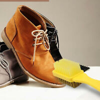1pc 2-Sided Cleaning Brush & Rubber Eraser Set Suede Nubuck Shoes Boot Clea yi