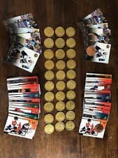 1997-98 PINNACLE MINT HOCKEY COIN AND CARD SETS GRETZKY ROY HASEK JAGR COMPLETE