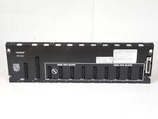 GE FANUC PROGRAMMABLE CONTROLLER CPU BASE 10 SLOT IC693CHS391N