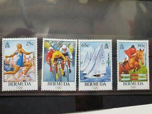 Bermuda 1996 Olympic Games set of 4, MNH