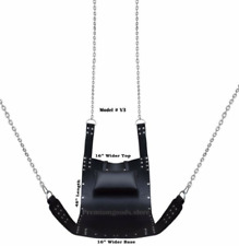 REAL THICK LEATHER ADULT BONDAGE SIT SLING FOR MULTIPLE POSTITION 8 PIECE