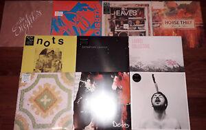 10 x LP  LOT ALBUMS NEUFS INDIE ROCK / POP / PUNK / AMBIENT (2010's) COLLECTION