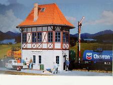 Pola G 331006 Poste d'aiguillage Reichenbach avec Goli et Figurine Nouveau