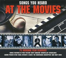 SONGS YOU HEARD AT THE MOVIES 75 FILM CLASSICS Inc STAND BY ME & MANY MORE