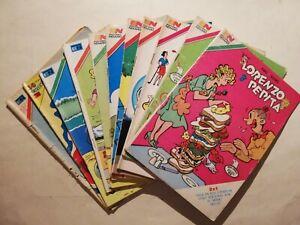 Vintage Mexican 11 dif LORENZO Y PEPITA CHIC YOUNG Novaro aguila Comics 70's 80s