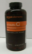 Amazon Elements Vitamin C 1000 mg Dietary Supplement - 300 Tablet Exp. 08/2021
