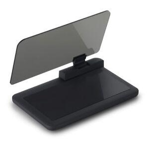 Universal Car HUD Navigation Bracket GPS Mobile Phone Holder HD Reflection Proje