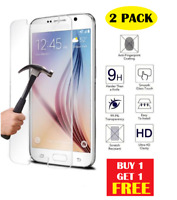 2 pc 100% Genuine Tempered Glass Screen Protector For Samsung Galaxy S5
