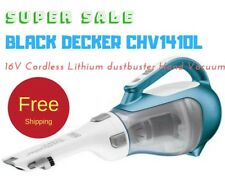 NEW BLACK+DECKER CHV1410L 16V CORDLESS LITHIUM DUSTBUSTER HAND VACUUM CLEANER
