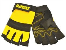 DEWALT PERFORM4 DPG23L 1/2 Synthetic Padded Leather Palm Gloves