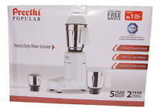 Preethi popular Heavy duty mixer grinder 750 watts Free delivery Australiawide