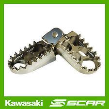 REPOSE CALE PIED STD KAWASAKI KX-F KXF 250 450 KX250F KX450F TITANE SCAR RACING