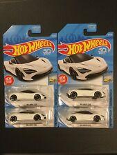 Hot Wheels McLaren 720S Factory Fresh White- Lot of 4