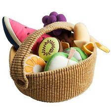 IKEA DUKTIG SET Obst Obstkorb 9 tlg für Kinderküche Kaufmannsladen NEU & OVP