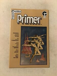 COMICO PRIMER #5 NM- 9.2 1ST APPEARANCE OF THE MAXX