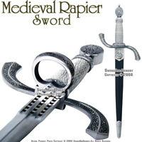 Renaissance Main Gauche Rapier Sword Fencing Dagger New