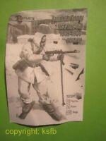 NEU 1/32 MARS 32024 WKII Frinnland finnische Infanterie im Winter auf Ski Kampf