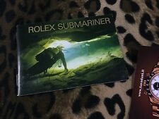 ROLEX BOOKLET LIBRETTO SUBMARINER SEA-DWELLER USA 1999 16610 14060 16600 16613