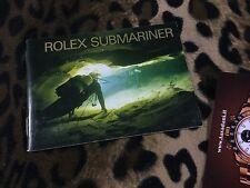 ROLEX BOOKLET LIBRETTO SUBMARINER SEA-DWELLER 16610 14060 16600 16613 USA 7.1999