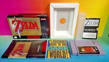 Legend of Zelda Link to the Past - SNES Super Nintendo Game Almost Complete Box