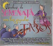 Noches de Serenatas Con Los Grandes Trios 3 CD's Tesoros *NUEVO* NOW SHIPPING !