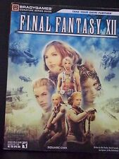 BradyGames Signature Series Guide Final Fantasy XII Playstation 2 Paperback