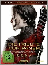 8 DVDs * DIE TRIBUTE VON PANEM - COMPLETE COLLECTION BOX # NEU OVP /