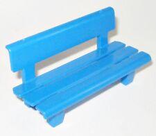 Playmobil PARKBANK blau Sitzbank BANK Nostalgie Puppenhaus City Möbel