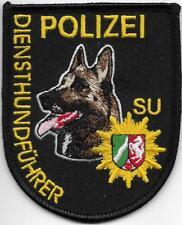 Polizei Diensthundführer SUNDERN Nordrhein-Westfalen K-9 DHF Abzeichen Patch NRW