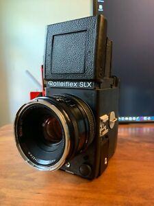 Rollei Rolleiflex SLX + Zeiss Planar 80MM F2.8 + Modern Battery + Charger