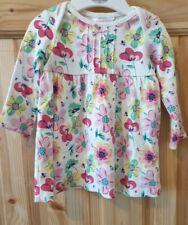 M&Co. Girls Long Sleeve Dress. Size: 0 - 3 Months. BNWT
