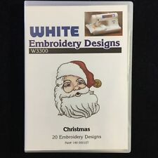 Christmas Embroidery Designs Card - Deco Brother Baby Lock White Simplicity