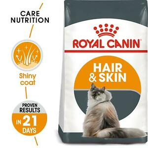 Royal Canin Hair & Skin Care Dry Adult Cat Food - High Protein Nutrients - 400g