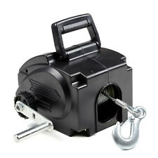 6000lb 12V Electric Winch Power Winches Auto Truck Towing Hauling Emergency Tool