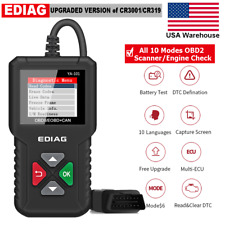 Automotive OBD2 Scanner Check Engine Fault Code Reader Car OBDII Diagnostic Tool