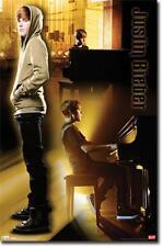 POSTER #1198 72 YE 22 X 34 JUSTIN BIEBER - PIANO