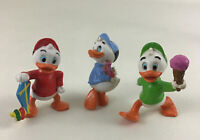 "DuckTales Huey Dewey Louie Applause Duck PVC Collectible 2"" Figure Vintage 1986"