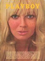 PLAYBOY AUGUST 1969 Debbie Hooper Penny James Bunnies of Detroit Ramsey Clark RC